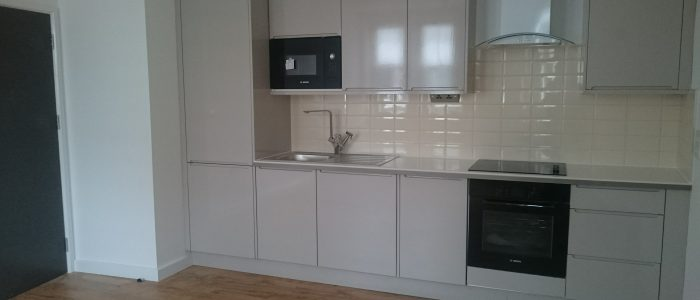 3 New  Kitchens in 3 Flats in Putney.